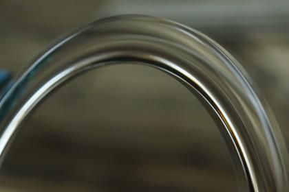 Particolare di Specchio con incisione raggiata 30mm